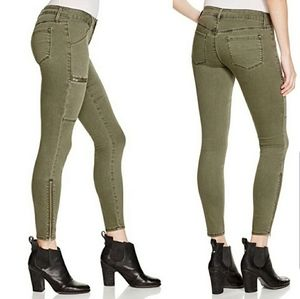 Stitch Fix Pistola Noella Green Zipper Pants